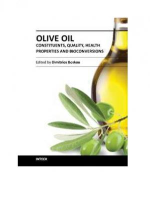 Copertina Olive Oil - Constituents, Quality, Health Properties and Bioconversions - INTECH