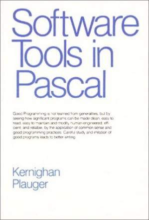 Book cover Software tools in Pascal(source code)