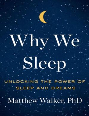 पुस्तक कवर Why We Sleep: Unlocking the Power of Sleep and Dreams