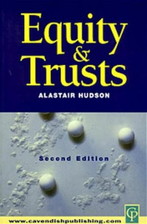 Copertina Equity and Trusts 2nd Edition