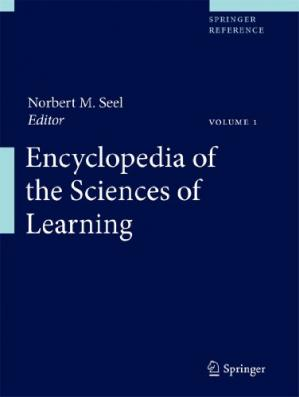 पुस्तक कवर Encyclopedia of the Sciences of Learning