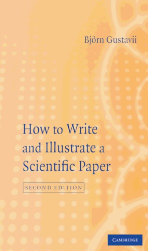 पुस्तक कवर How to Write and Illustrate a Scientific Paper