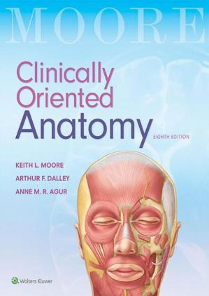 Book cover Clinically Oriented Anatomy
