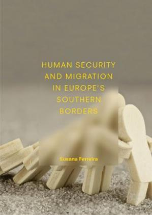 A capa do livro Human Security and Migration in Europe's Southern Borders
