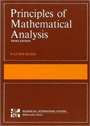 Book cover Principles of Mathematical Analysis