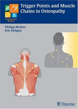 غلاف الكتاب Trigger Points and Muscle Chains in Osteopathy
