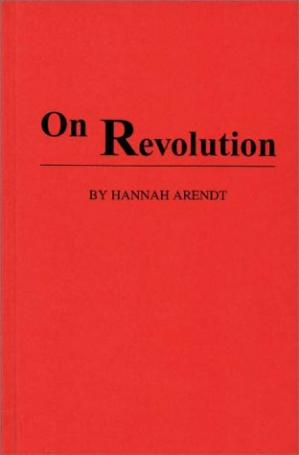 Buchdeckel On Revolution