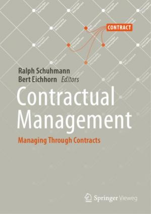 Book cover Contractual Management: Managing Through Contracts