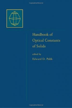 Couverture du livre Handbook of Optical Constants of Solids, Volume 5: Handbook of Thermo-Optic Coefficients of Optical Materials with Applications