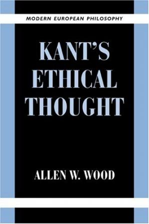 Couverture du livre Kant's Ethical Thought (Modern European Philosophy)