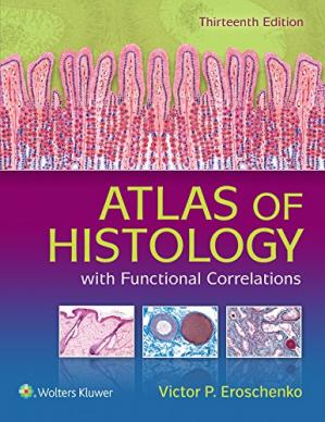 Buchdeckel Atlas of Histology with Functional Correlations