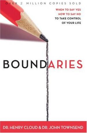 Book cover Boundaries: When To Say Yes, How to Say No