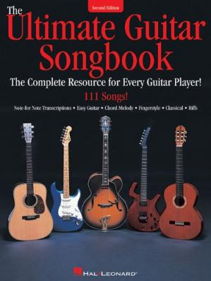 Buchdeckel The Ultimate Guitar Songbook Second Edition
