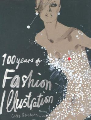 Book cover 100 Years of Fashion Illustration