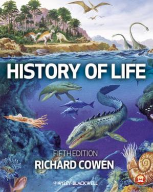 Book cover History of life