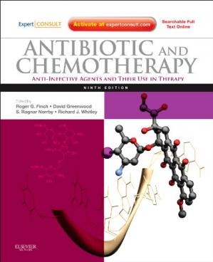 Book cover Antibiotic and Chemotherapy: Expert Consult, 9e