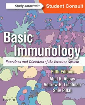 Couverture du livre Basic Immunology: Functions and Disorders of the Immune System, 5e