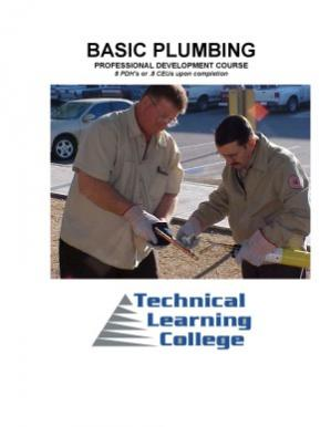 Book cover Basic Plumbing Course