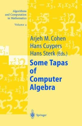 Book cover Some Tapas of Computer Algebra