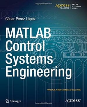 Copertina MATLAB Control Systems Engineering