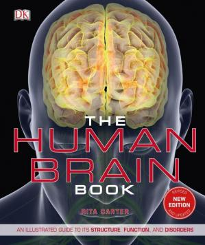 A capa do livro The Human Brain Book: An Illustrated Guide to Its Structure, Function, and Disorders
