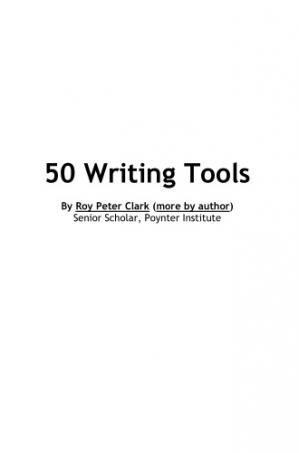 Обложка книги Writing Tools: 50 Essential Strategies for Every Writer