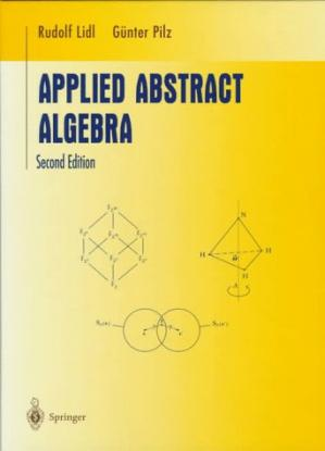 Book cover Applied abstract algebra