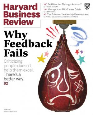 غلاف الكتاب Harvard Business Review (March–April 2019)
