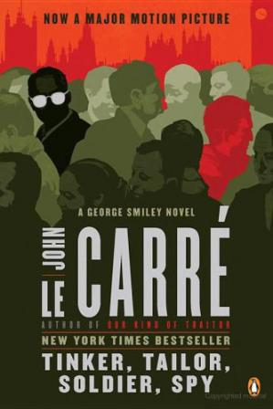 Book cover Tinker, Tailor, Soldier, Spy