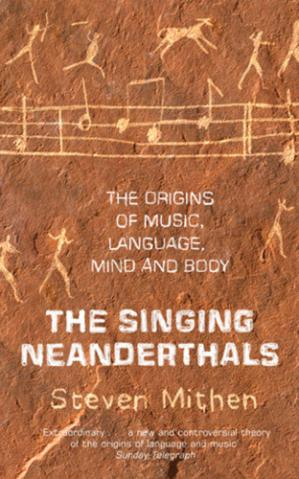 Book cover The Singing Neanderthals