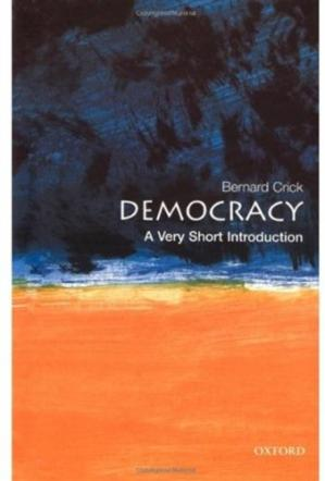Book cover Democracy: A Very Short Introduction