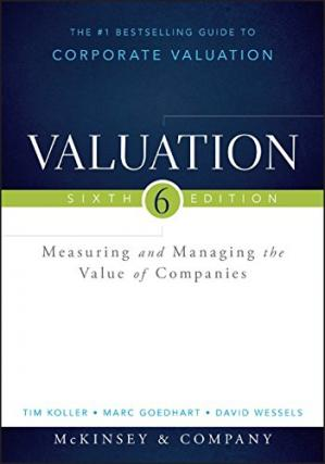 Copertina Valuation: Measuring and Managing the Value of Companies