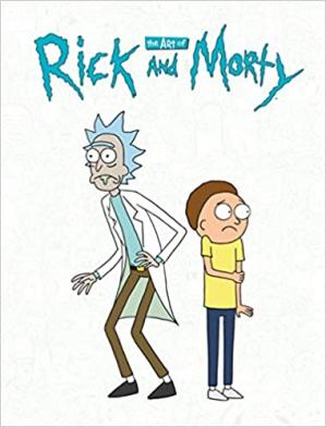 Book cover The Art of Rick and Morty