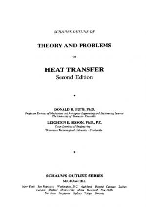 Sampul buku Heat Transfer