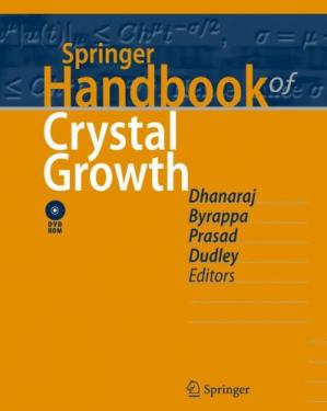 Обложка книги Springer Handbook of Crystal Growth
