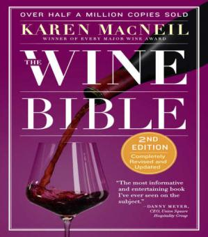A capa do livro The Wine Bible