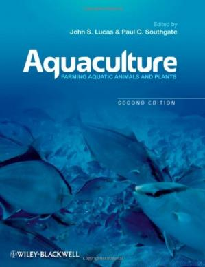 Couverture du livre Aquaculture: Farming Aquatic Animals and Plants