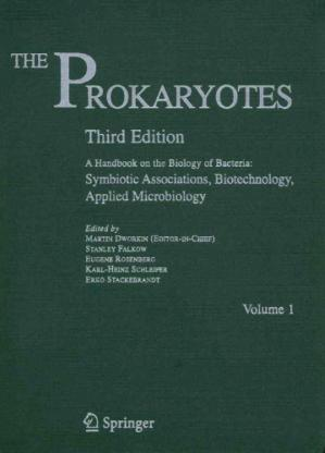 Εξώφυλλο βιβλίου The Prokaryotes Handbook On The Biology Bacteria