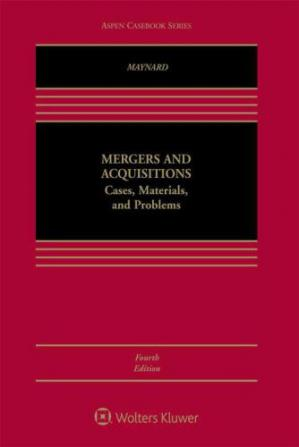 Обложка книги Mergers and Acquisitions: Cases, Materials, and Problems