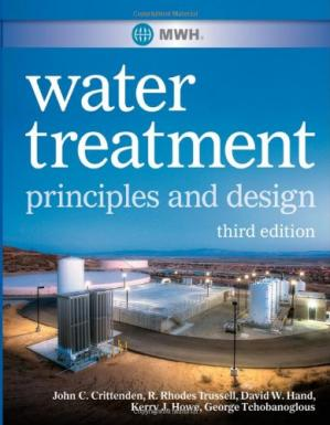 Обкладинка книги MWH's Water Treatment: Principles and Design