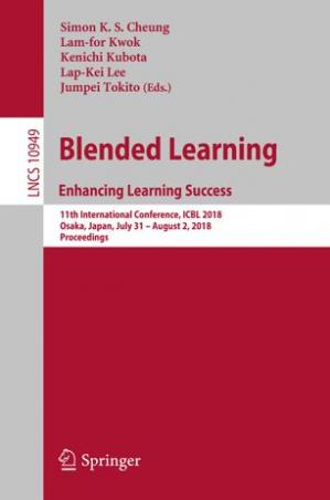 Book cover Blended Learning. Enhancing Learning Success