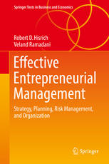 Book cover Effective Entrepreneurial Management: Strategy, Planning, Risk Management, and Organization