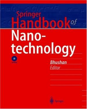 Buchdeckel Springer Handbook of Nanotechnology