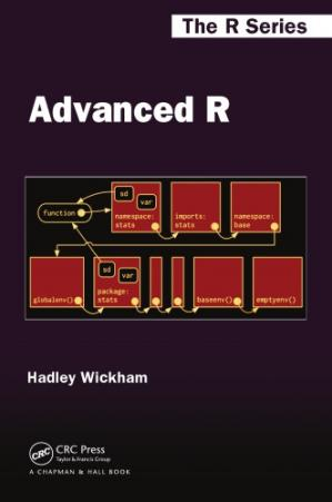 Book cover Advanced R