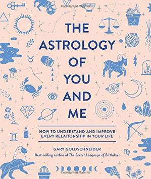 A capa do livro The Astrology of You and Me: How to Understand and Improve Every Relationship in Your Life