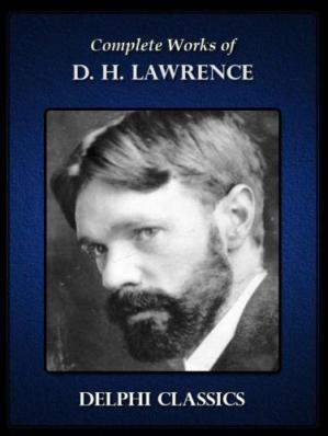 A capa do livro The Complete Works of D H Lawrence