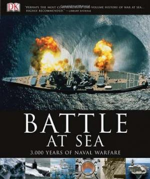 Book cover Battle at Sea: 3,000 Years of Naval Warfare