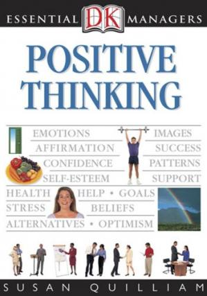 Book cover Positive Thinking (DK Essential Managers)