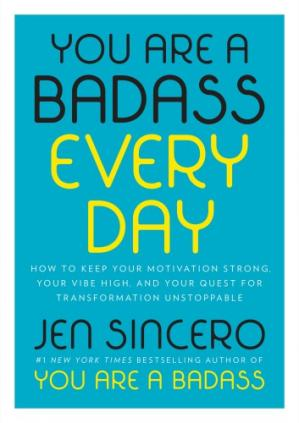 Book cover You Are a Badass Every Day
