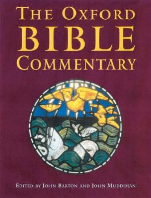 Okładka książki The Oxford Bible Commentary